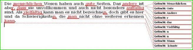 Grenzen vo Textverarbeitung 2